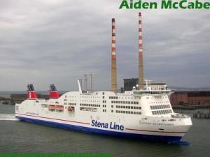 Stena Adventurer entering Dublin