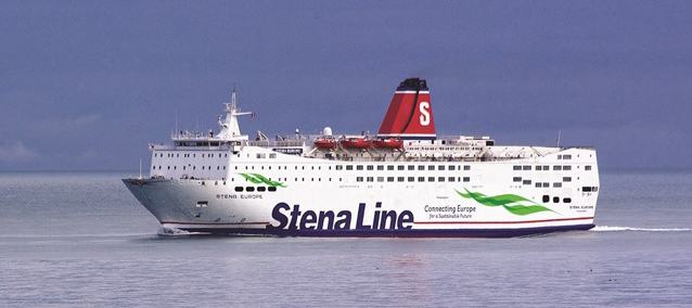 Stena Europe returns to Rosslare