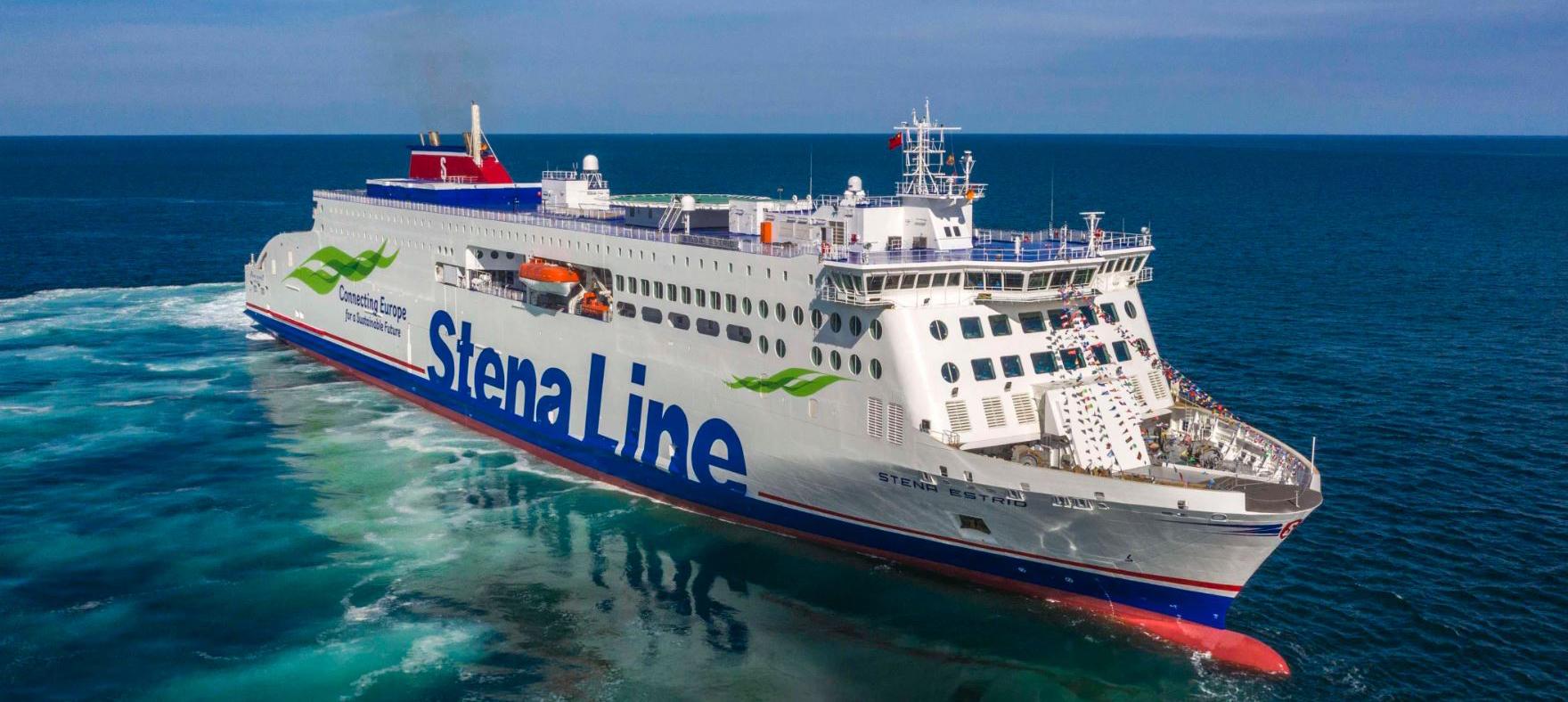 Stena Estrid completes sea trials